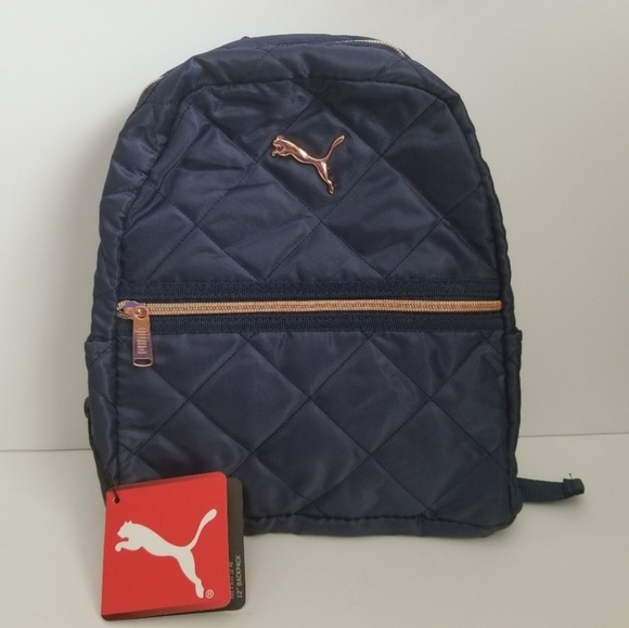 f69fa3375027 2/$50 | NEW | Puma | Navy Orbital Mini Backpack NWT